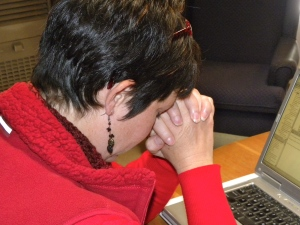 Woman Praying Anita Brooks
