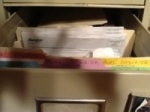 Filing System for Writing
