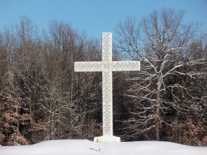 Anita Brooks Snowy Cross