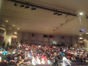 Cullen Auditorium Anita Brooks Speaker